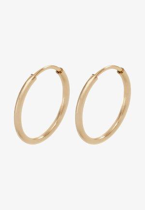 DIA HOOP - Earrings - gold-coloured