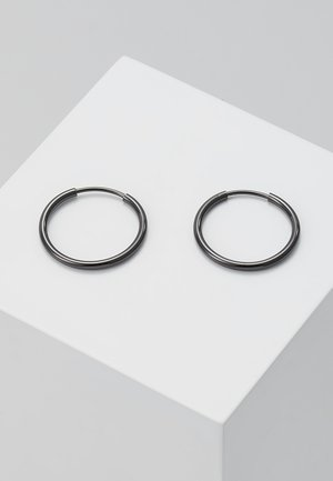 DIA HOOP - Earrings - silver- coloured