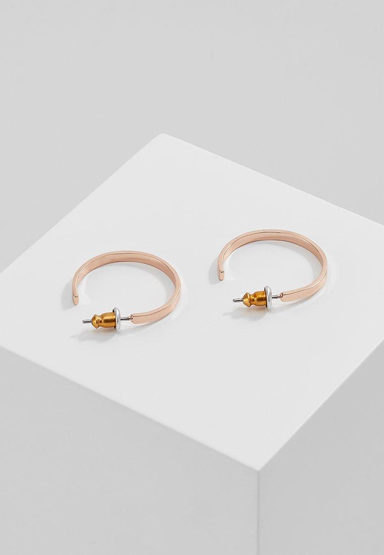 Pilgrim EARRINGS - Örhänge - rosegold-coloured