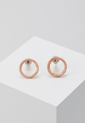 EARRINGS LIV - Oorbellen - rosegold-coloured