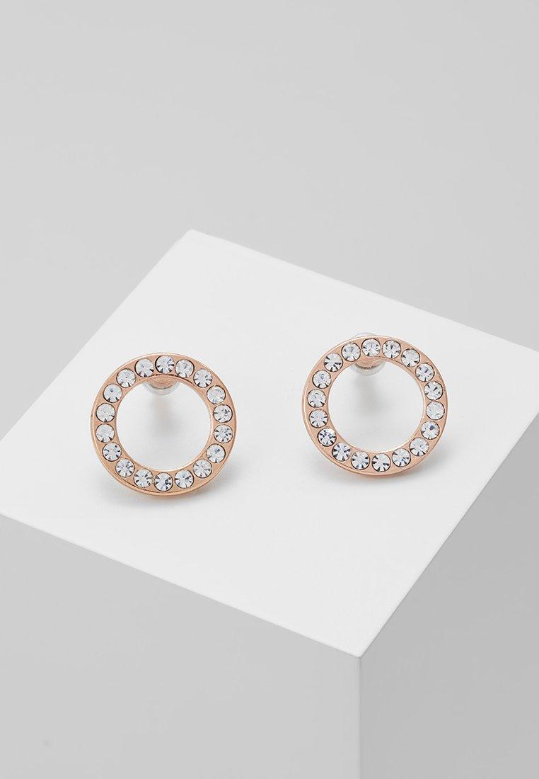 Pilgrim - EARRINGS VICTORIA - Earrings - rosegold-coloured