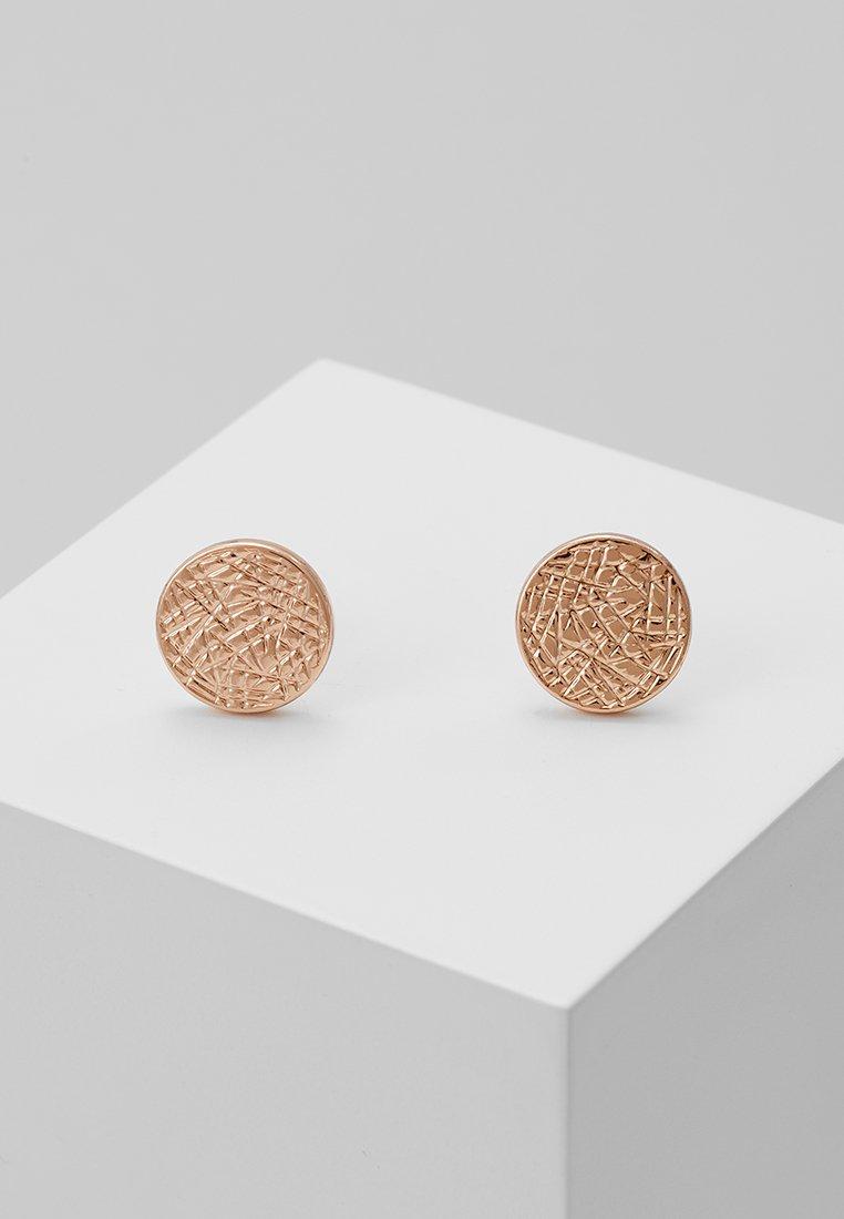 Pilgrim - EARRINGS WYNONNA - Earrings - rose-gold-coloured