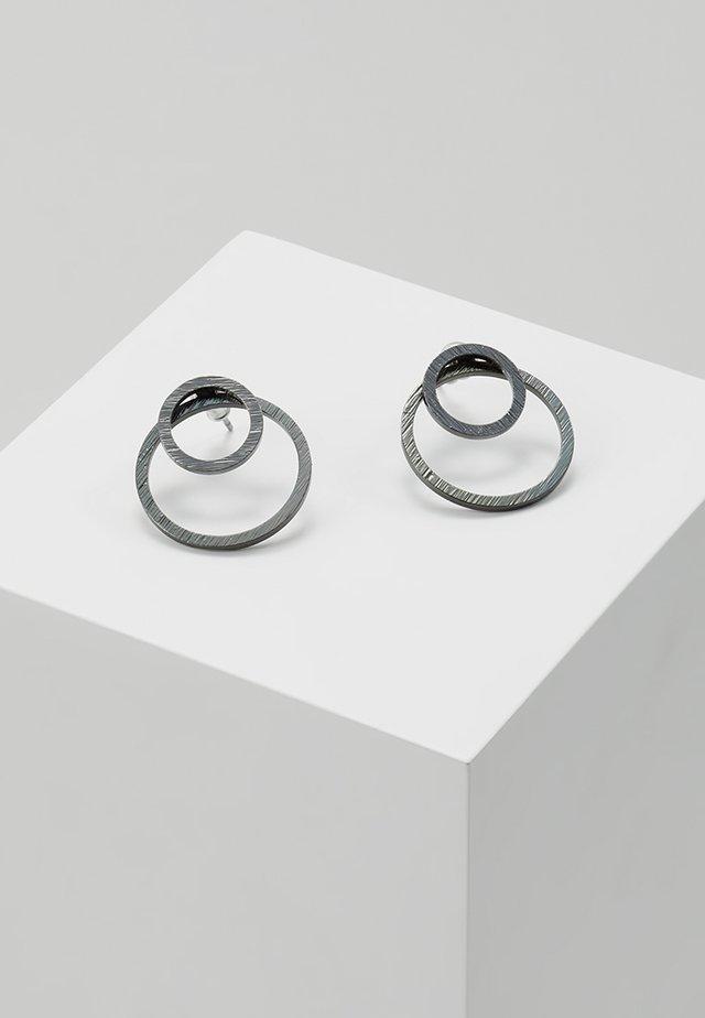 EARRINGS ZOOEY - Oorbellen - gunmetal