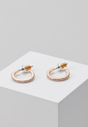 ROBERTA - Oorbellen - rosegold-coloured