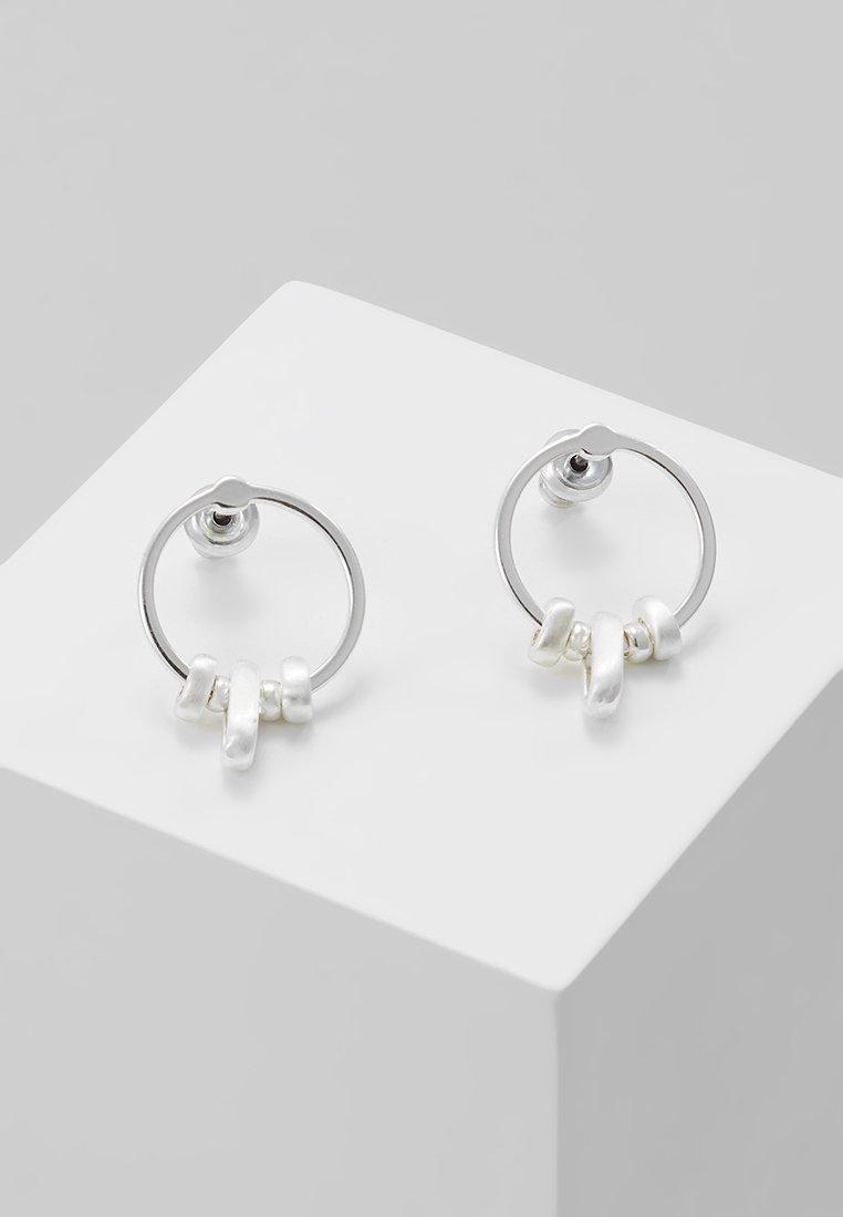 Pilgrim - EARRINGS - Boucles d'oreilles - silver-coloured