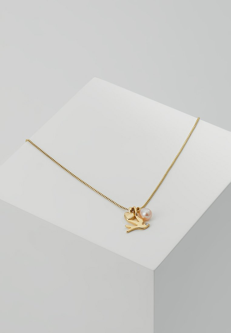 Pilgrim - SWALLOW FORTUNE NECKLACE - Collier - gold-coloured