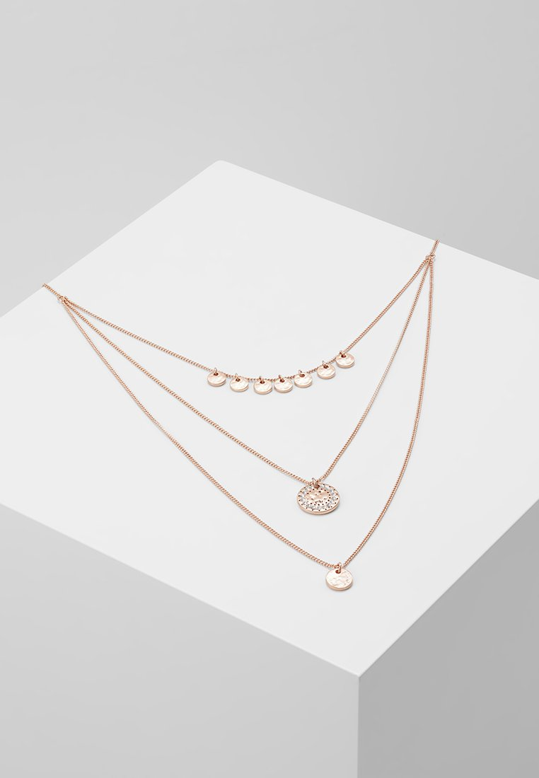Pilgrim - NECKLACE ARDEN - Halskette - rosegold-coloured