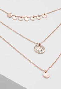 Pilgrim - NECKLACE ARDEN - Necklace - rosegold-coloured - 4