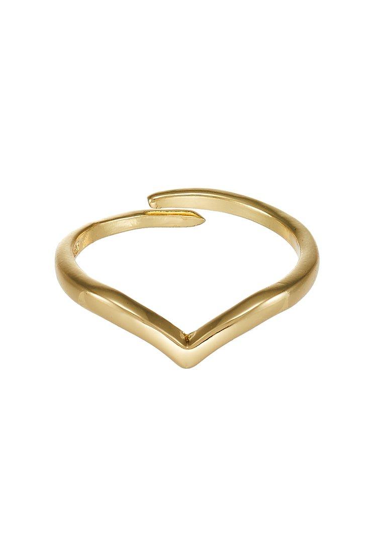 Pilgrim Ringar - gold-coloured