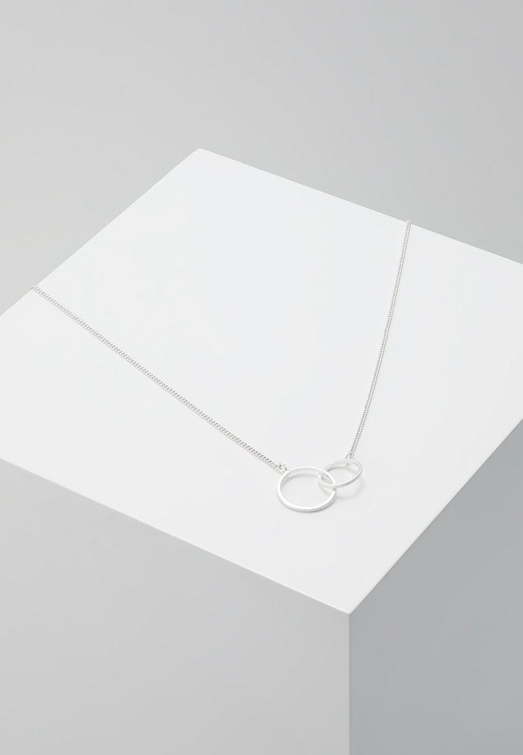 Pilgrim - NECKLACE HARPER - Smykke - silver-coloured