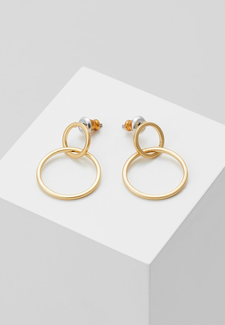 Pilgrim - EARRINGS HARPER - Oorbellen - gold-coloured