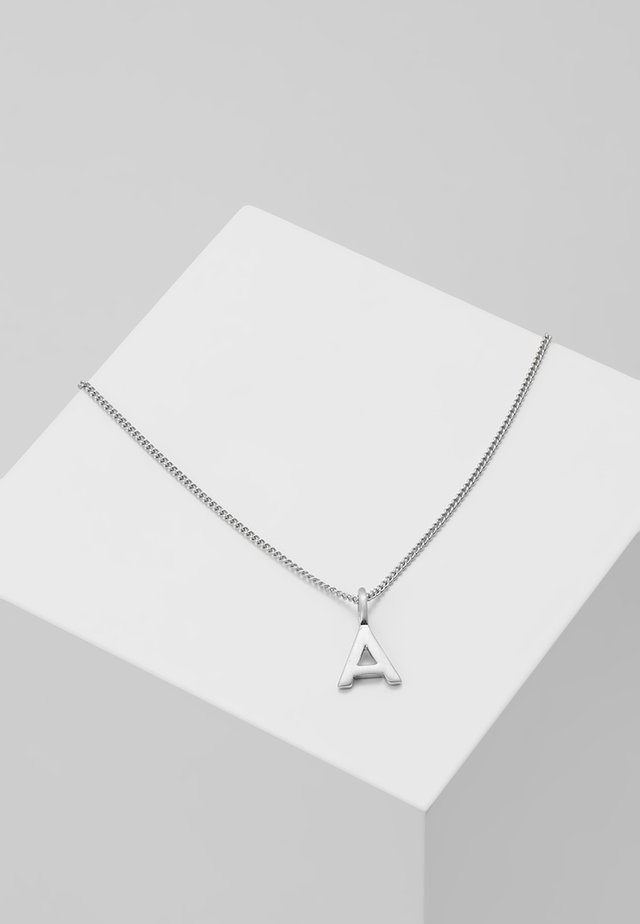NECKLACE A - Necklace - silver-coloured
