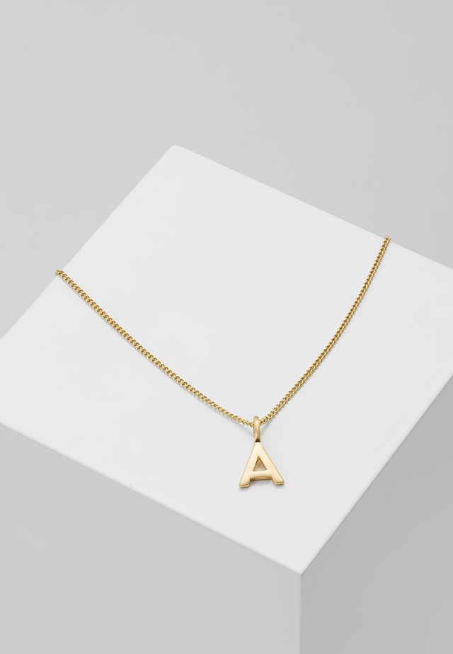 NECKLACE A - Halsband - gold-coloured