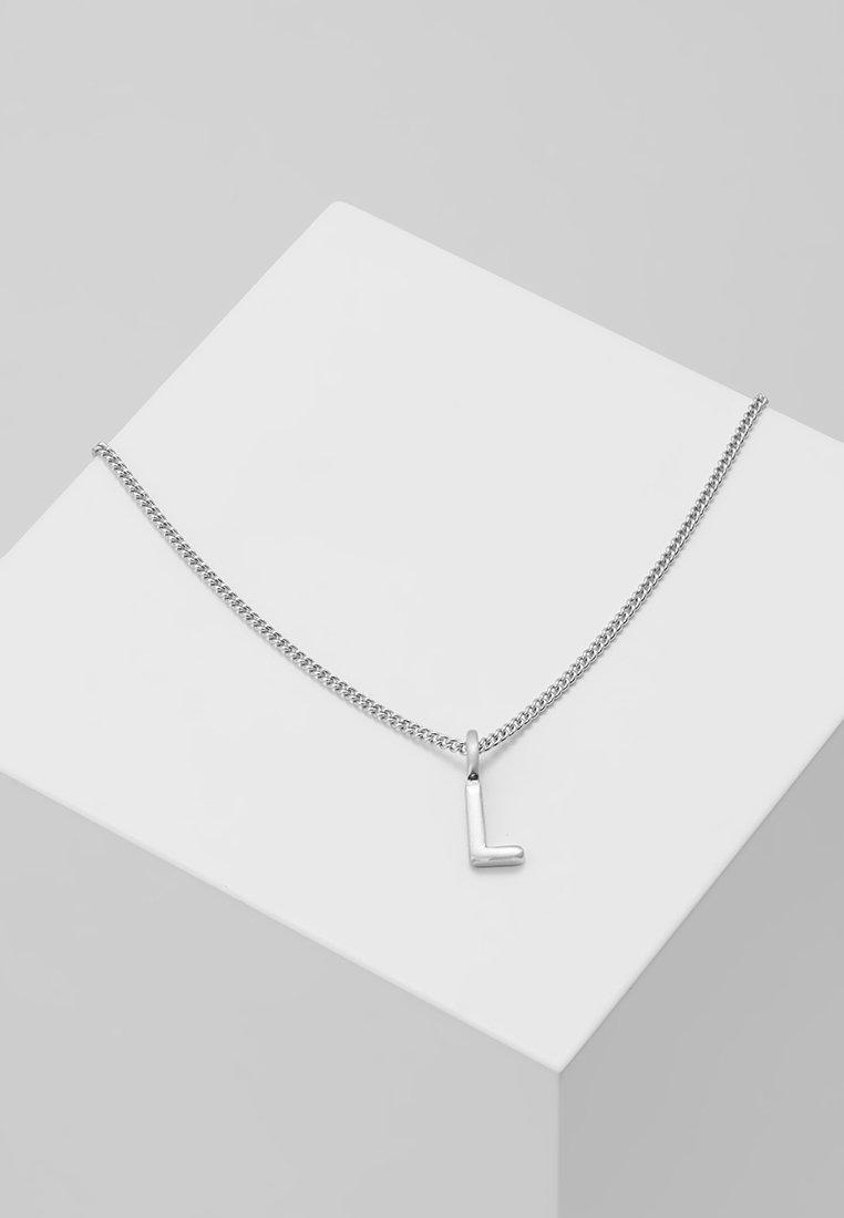 Pilgrim - NECKLACE L - Náhrdelník - silver-coloured