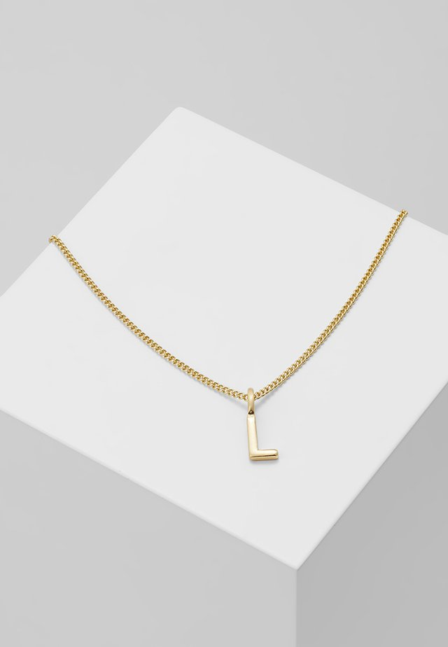 NECKLACE L - Necklace - gold-coloured