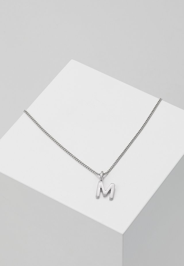 NECKLACE M - Halsband - silver-coloured