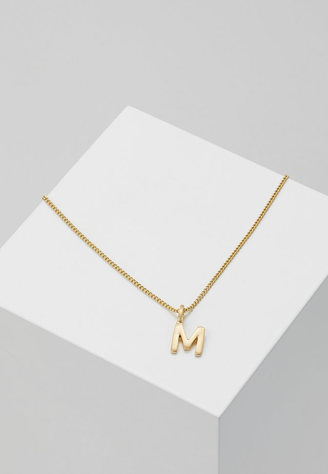 NECKLACE M - Necklace - gold-coloured