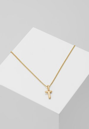 NECKLACE T - Collier - gold-coloured