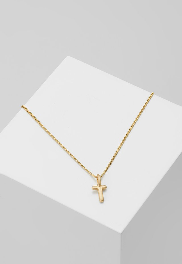NECKLACE T - Necklace - gold-coloured