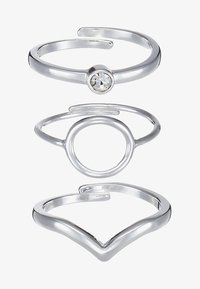 Pilgrim - SPECIAL DESIGN 3 PACK - Ringe - silver-coloured - 4