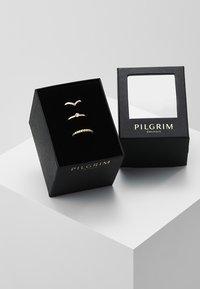 Pilgrim - SPECIAL DESIGN 3 PACK - Ring - gold-coloured - 0