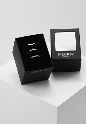 SPECIAL DESIGN 3 PACK - Ring - gold-coloured
