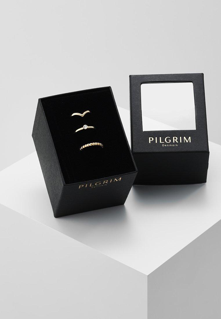 Pilgrim - SPECIAL DESIGN 3 PACK - Ringar - gold-coloured