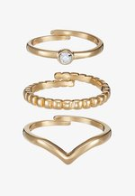 SPECIAL DESIGN 3 PACK - Bague - gold-coloured