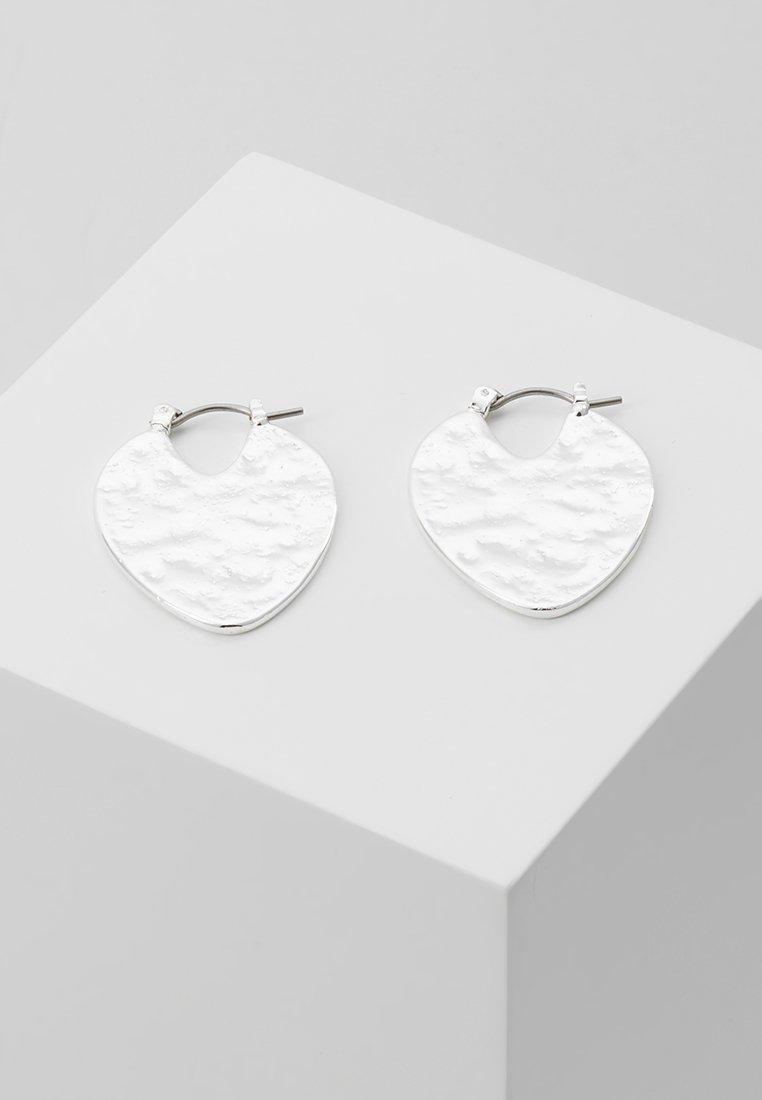 Pilgrim - EARRINGS AMA - Earrings - silver-coloured