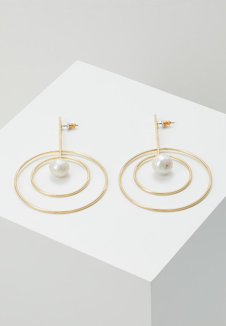 Pilgrim - EARRINGS  AMA - Earrings - gold-coloured