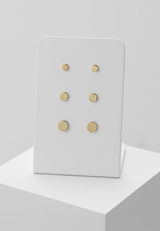 EARRINGS NORMA 3 PACK - Earrings - gold-coloured