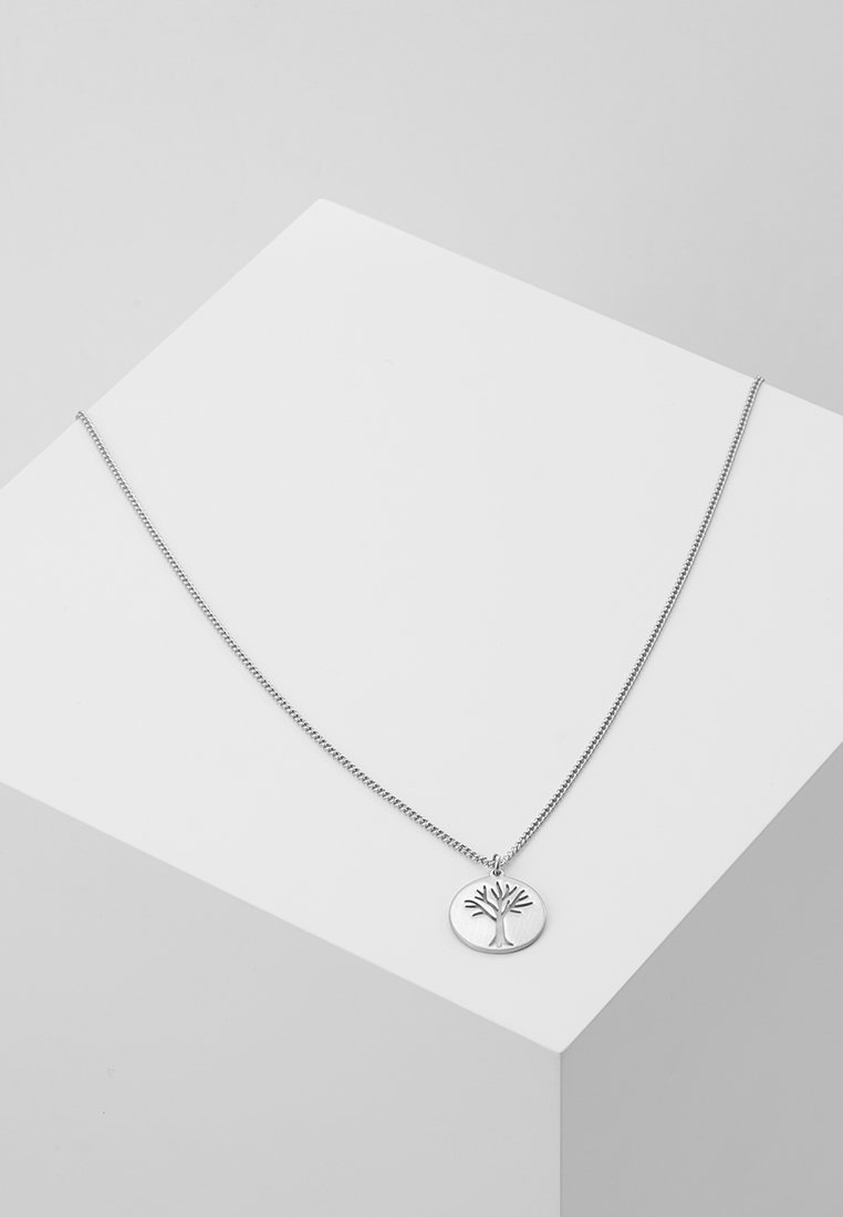 Pilgrim - NECKLACE ELIN - Ketting - silver-coloured