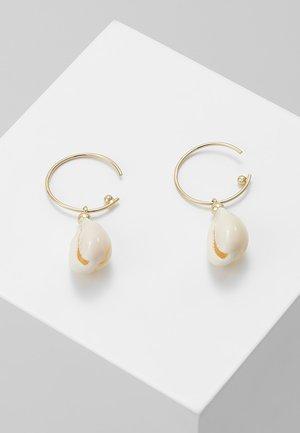 EARRINGS - Oorbellen - white