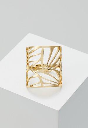 ASAMI - Ring - gold-coloured