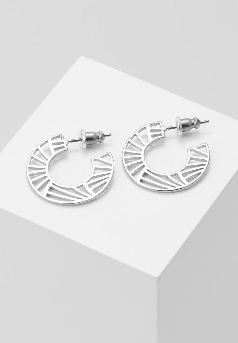 Pilgrim - EARRINGS ASAMI - Korvakorut - silver-coloured