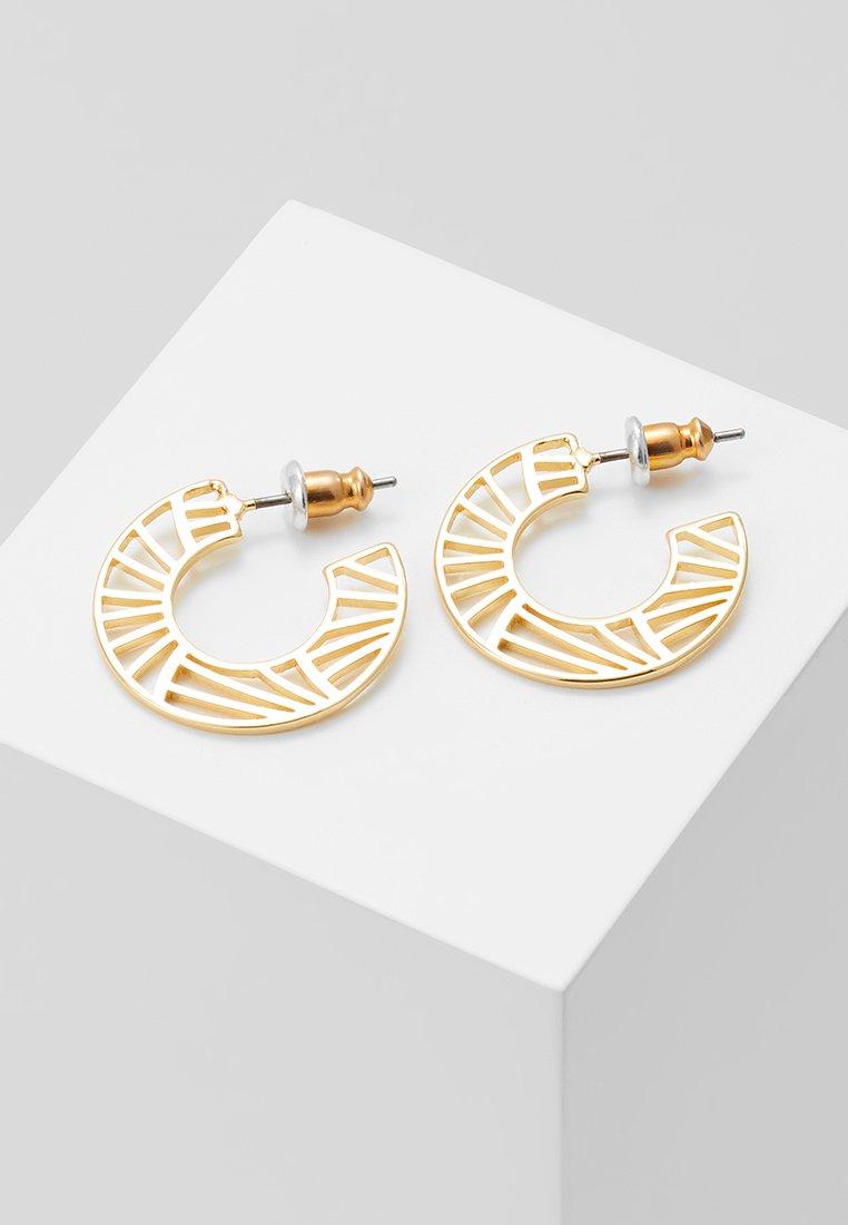 Pilgrim - EARRINGS ASAMI - Ohrringe - gold-coloured