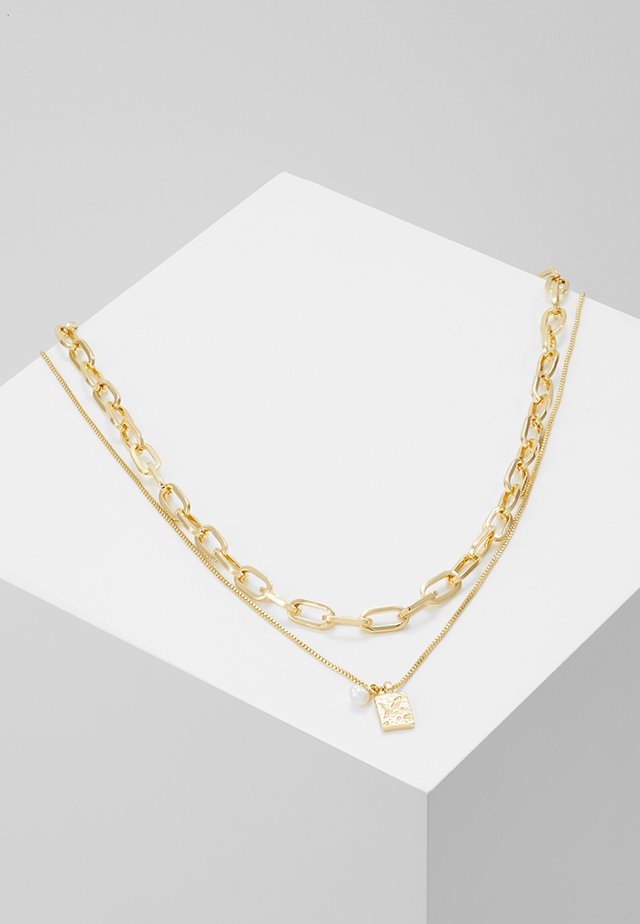NECKLACE HANA 2 PACK - Halskæder - gold-coloured