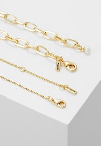 Pilgrim - NECKLACE HANA 2 PACK - Ketting - gold-coloured