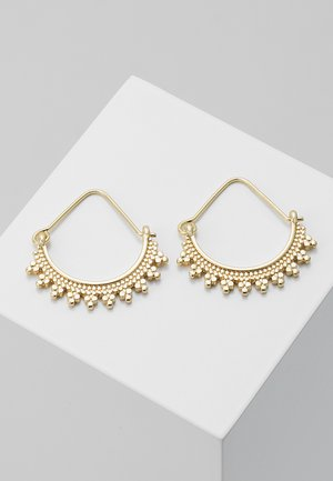 EARRINGS KIKU - Oorbellen - gold-coloured