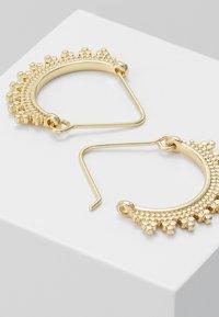 Pilgrim - EARRINGS KIKU - Earrings - gold-coloured - 3