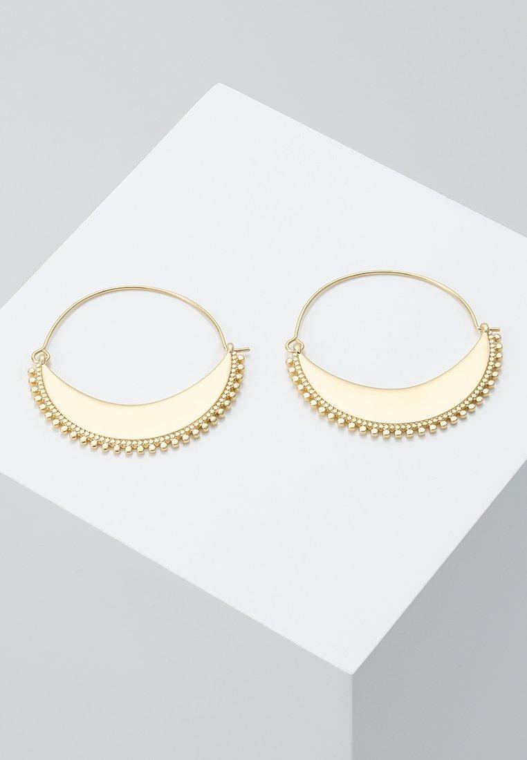 Pilgrim - EARRINGS KIKU - Earrings - gold-coloured