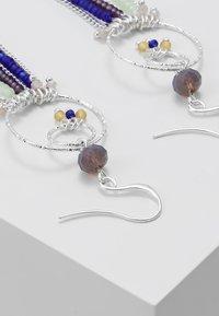 Pilgrim - EARRINGS KIKU - Örhänge - silver-coloured - 3