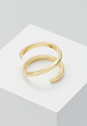 RING - Sormus - gold-coloured
