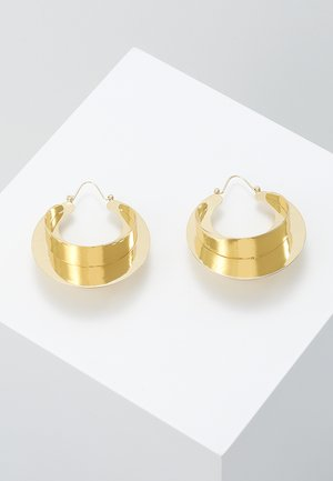 EARRINGS - Boucles d'oreilles - gold-coloured