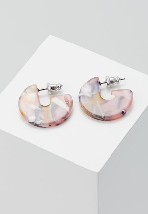 EARRINGS MIKA - Oorbellen - silver-coloured