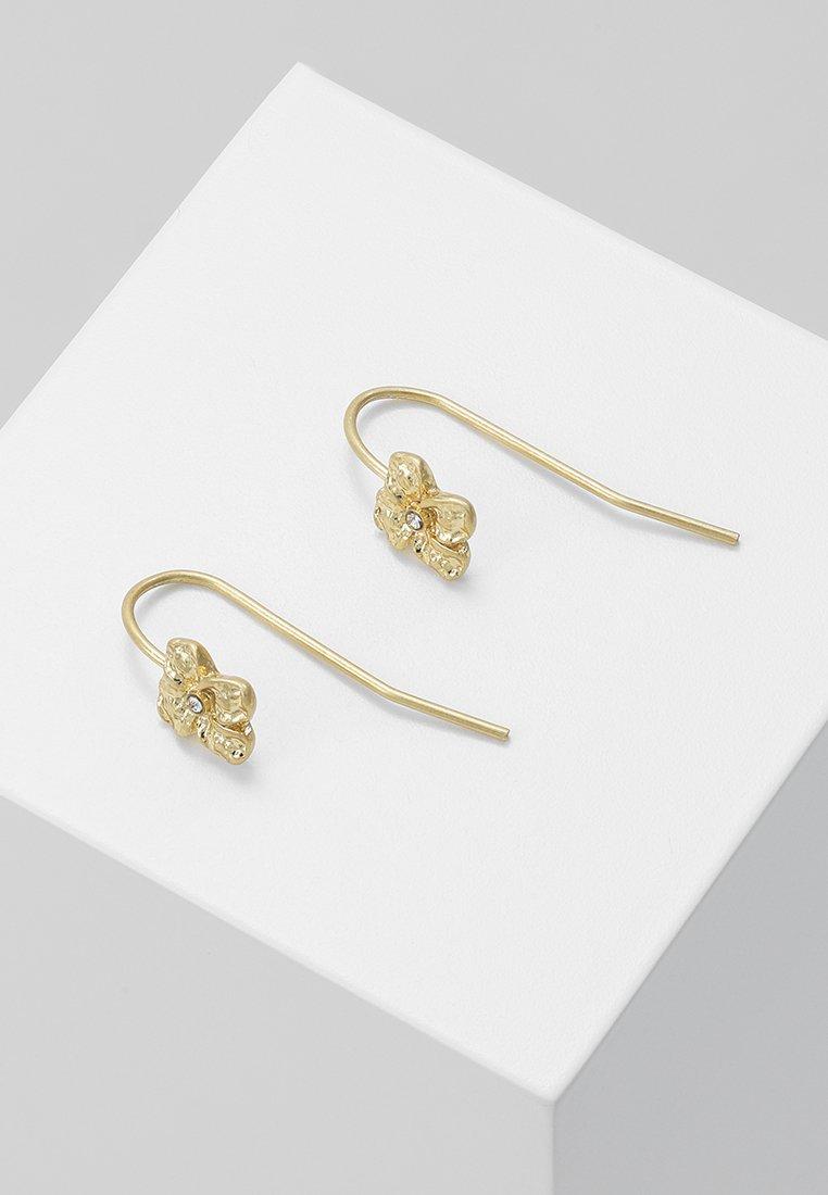 Earrings Gold D'oreilles Pilgrim JustineBoucles coloured FJcTlK1