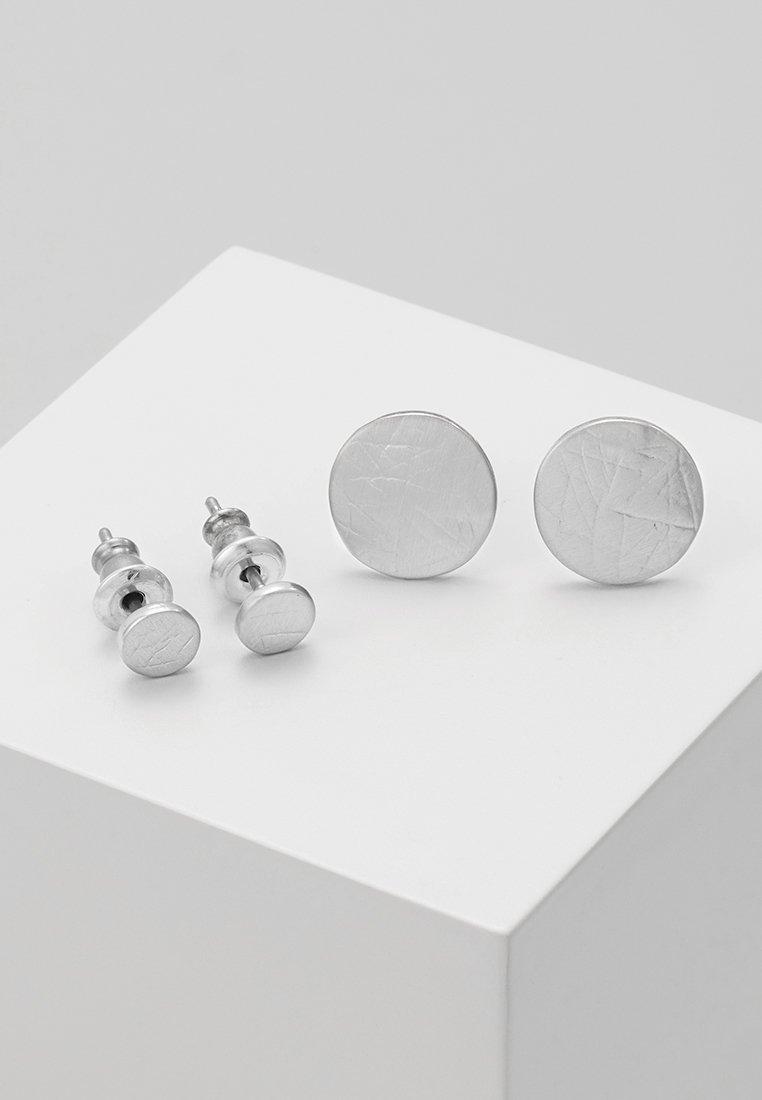 Pilgrim - BESTSELLER 2 PACK - Kolczyki - silver-coloured