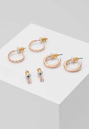 GRACIE SET - Korvakorut - rose gold-coloured