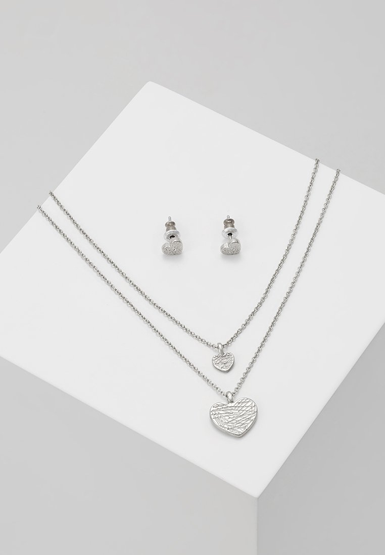 Pilgrim - ASTA SET - Halsband - silver-coloured