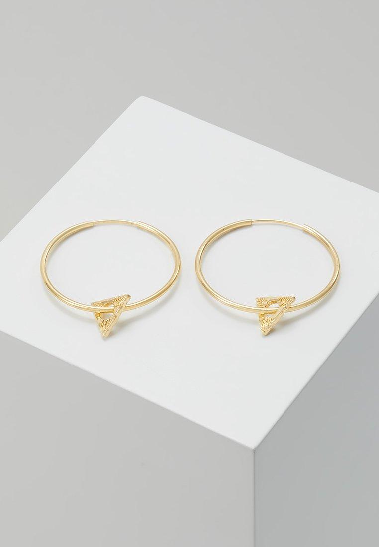 Pilgrim - EARRINGS SIGYN - Náušnice - gold-coloured